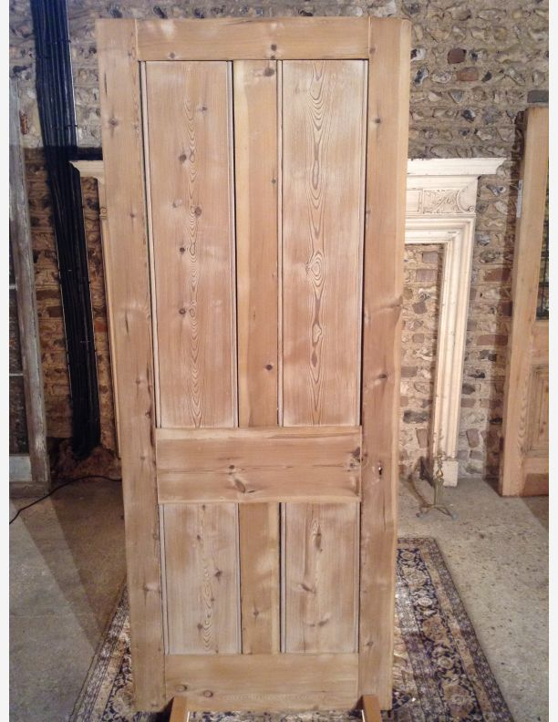 A690 solid pine victorian front or back door for Solid back doors