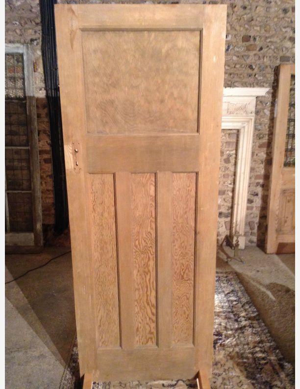 Q698 1930s 1 over 3 panel internal door by historic doors for 1 over 3 panel door