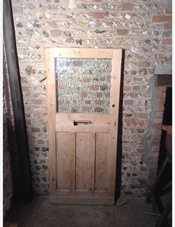 N705 reclaimed 34 x 77 3 4 x 1 7 8 1930s front door by for 1930 front door
