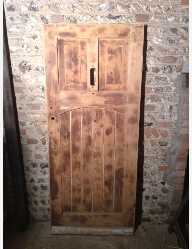 706 - 35 x 81 1/2 x 1 7/8 reclaimed period front door
