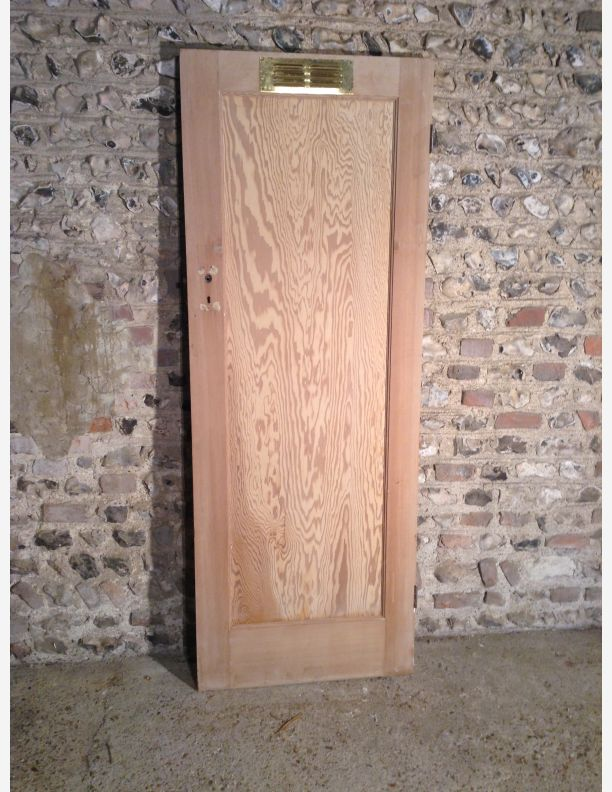 single panel Edwardian door & Reclaimed Edwardian internal doors 1901-1910