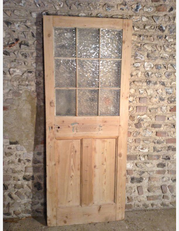 B845 External 9 Pane Glazed Cottage Door By Historic Doors