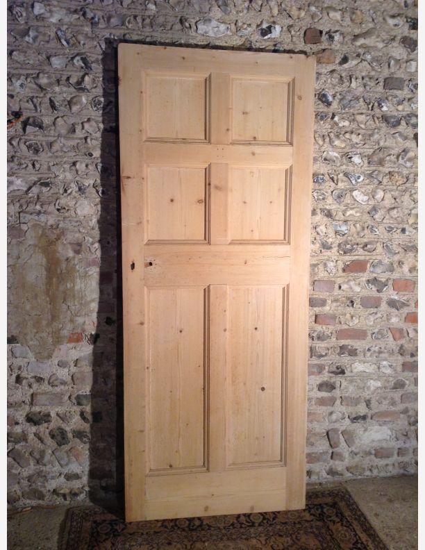 942 - Edwardian 6 panel door