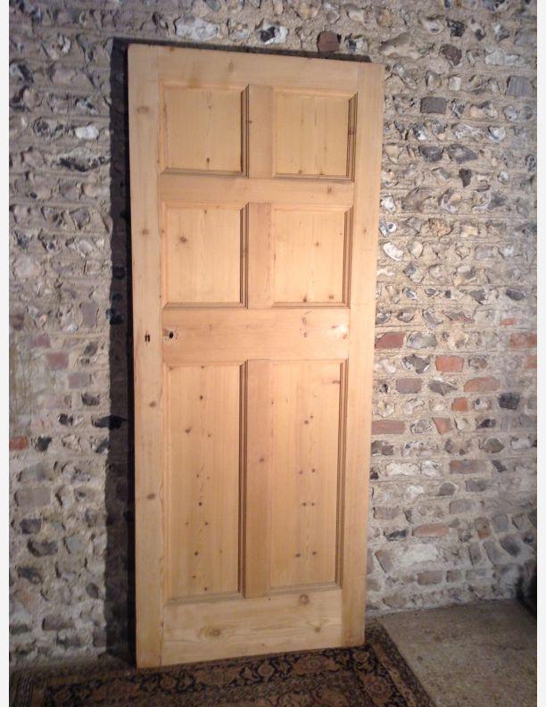 943 - Edwardian 6 panel door