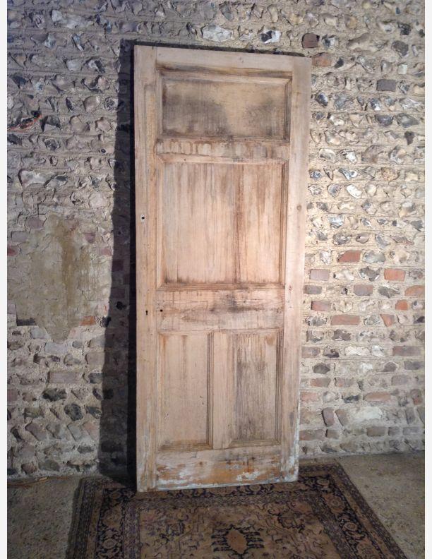951 - Edwardian 4  panel reclaimed door