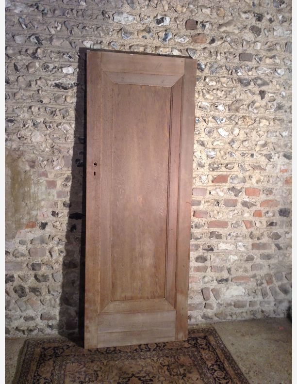 single panel Edwardian door & Reclaimed Edwardian internal doors 1901-1910