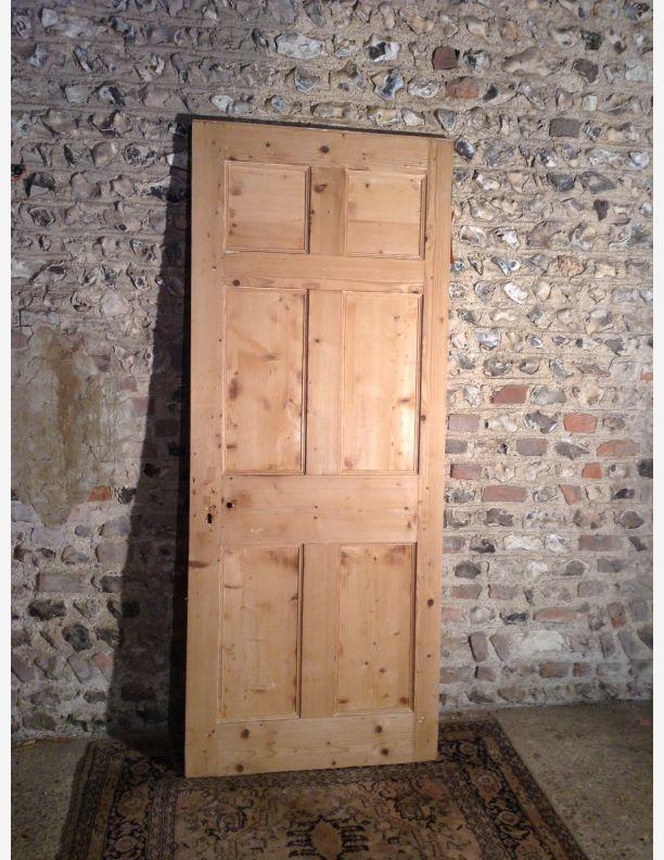 965 - 6 panel pine door