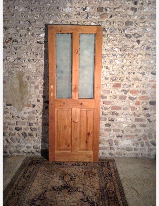 Reclaimed 1 2 glazed victorian style internal door by for Victorian door styles