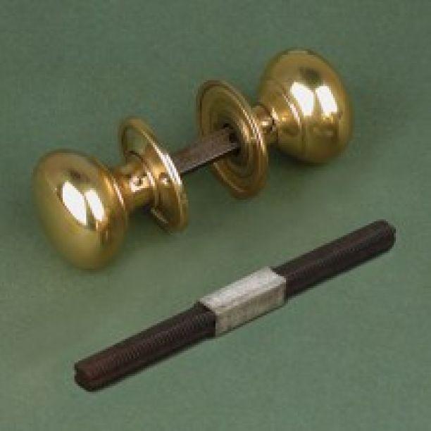 1034 - Victorian or Georgian 42mm Brass Cottage Door Knob