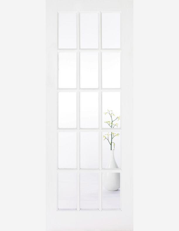 2172 - French 15 lite glazed doors