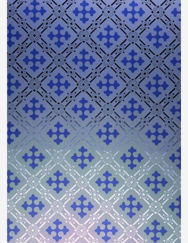 669 - Gothic blue