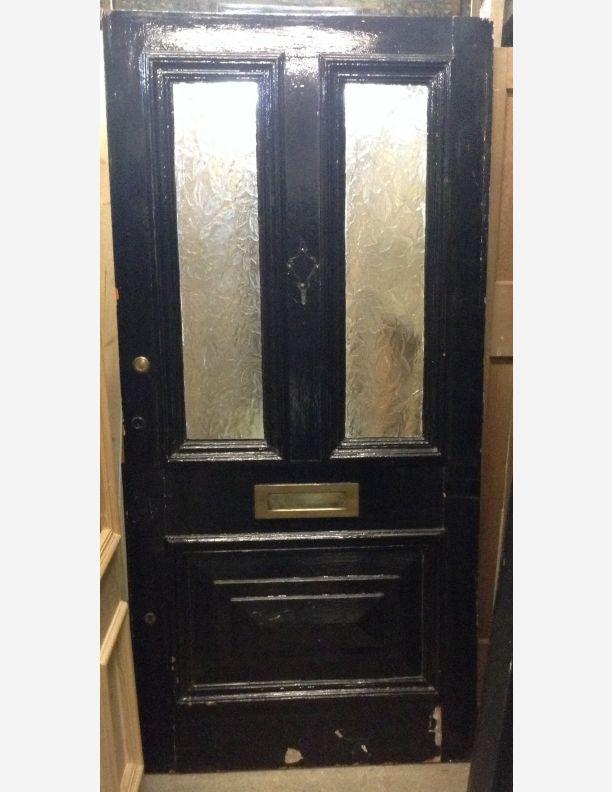 1054 - Victorian Half glazed front door