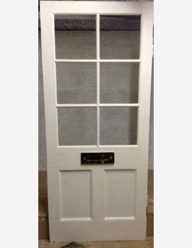 6 Lite Half Glazed Victorian Front Door By Historic Doors
