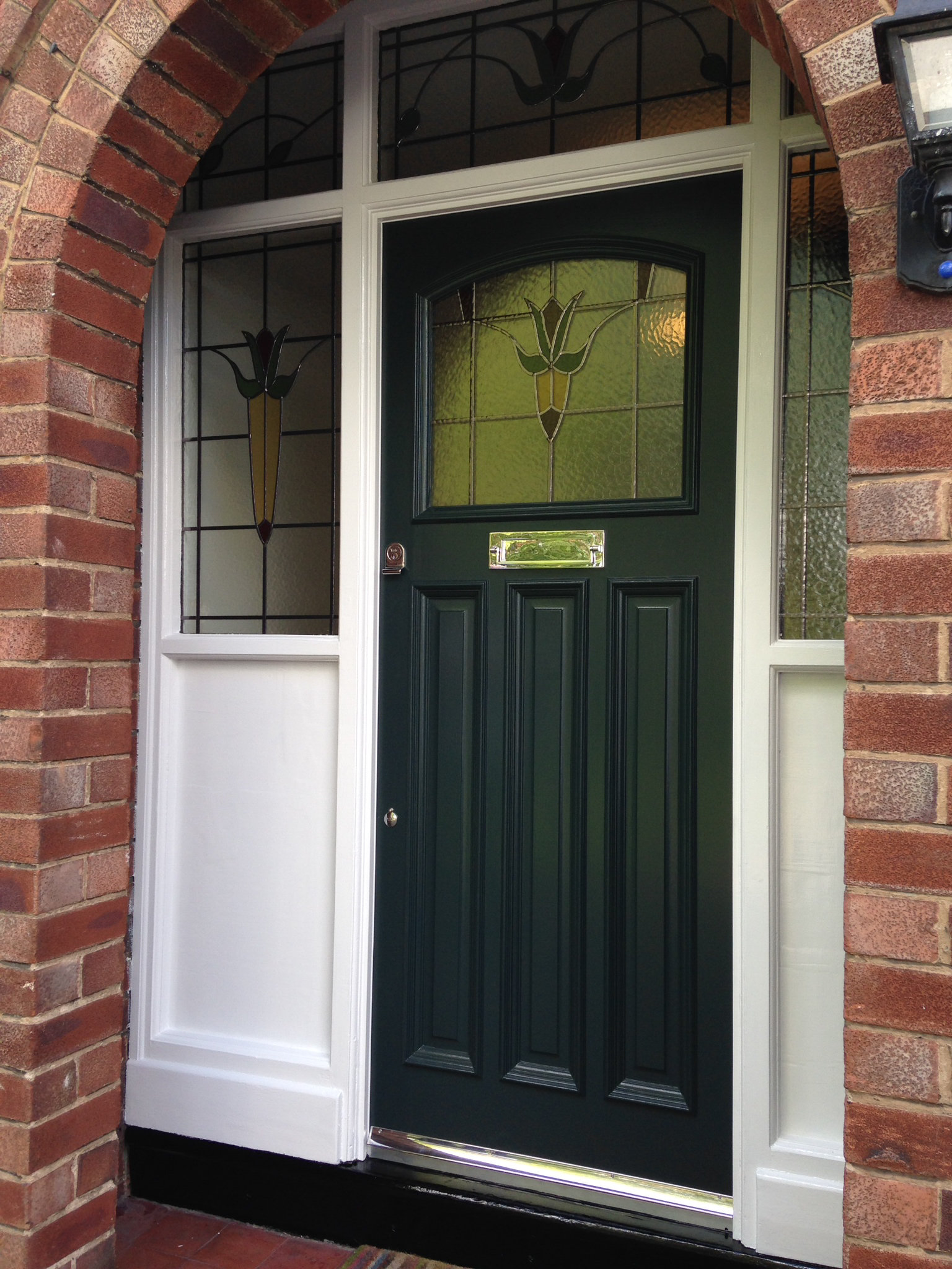 Reclaimed 1930s doors by historic doors for 1930s front door styles